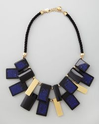 kate spade new york | Blue Cobalt Clean Break Necklace | Lyst