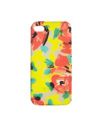 J.Crew | Yellow Printed Iphone 5 Case | Lyst
