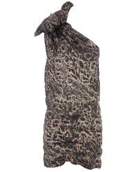 La Petite Salope | Black One Shoulder Puff Dress | Lyst