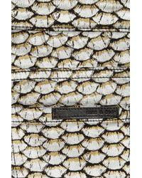 Sass & Bide Superbase Metallic Fish Skin Skinny Jeans