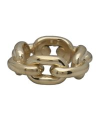 Jennifer Fisher | Metallic Brass Extra Large Chain Link Ring | Lyst