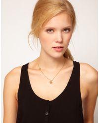 Zoe & Morgan | Metallic My Darling Charm Necklace | Lyst