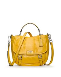 COACH - Yellow Madison Leather Annabelle - Lyst