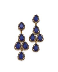 Erickson Beamon - Blue Duchess Earrings - Lyst