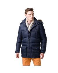 Tommy Hilfiger | Blue Hudson Down Jacket for Men | Lyst