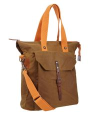 Ally Capellino - Natural Khaki Timothy Waxed Cotton Tote for Men - Lyst