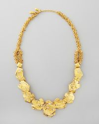 Jose & Maria Barrera | Metallic Gold Nugget Necklace | Lyst