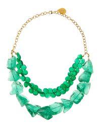 Devon Leigh | Green Onyxquartz Necklace | Lyst