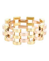 Michael Kors - Metallic Very Hollywood Deco Link Bracelet - Lyst