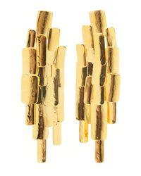 Aurelie Bidermann - Metallic Machu Picchu Earring - Lyst