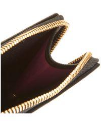 Paul Smith - Black Saffiano Zip Pocket Wallet for Men - Lyst