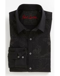 Robert Graham | Black Mastriani Sport Shirt for Men | Lyst