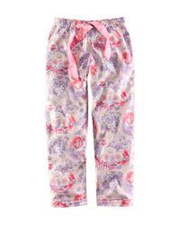 H&M   Purple Pyjama Trousers   Lyst
