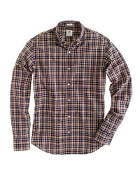 J.Crew - Brown Thomas Mason Archive For Jcrew Slim Shirt in Plaid for Men - Lyst