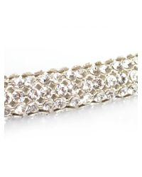 Atelier Swarovski - Metallic Swarovski Slim Bolster Necklace Crystal - Lyst