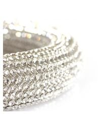 Atelier Swarovski | Metallic Bolster Hand Sewn Necklace Crystal | Lyst