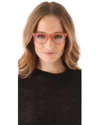 Elizabeth and James - Pink Meridan Glasses - Lyst