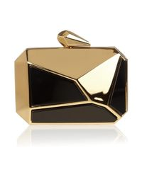 KOTUR - Metallic Pearce Metal and Perspex Octagonal Clutch - Lyst