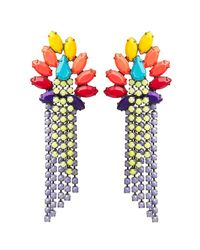 Tom Binns | Multicolor Riri Earring | Lyst