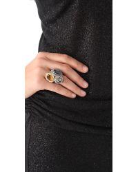 Alexis Bittar - Metallic Siyabona Labradorite Ring - Lyst