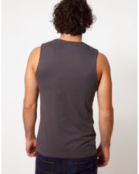 ASOS - Gray Super Longline T-shirt With Renaissance Print And Curved Hem for Men - Lyst