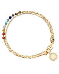 Astley Clarke | Metallic Cosmos 18ct Gold Vermeil Friendship Bracelet | Lyst