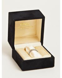 Nonnative - Metallic Ridged Dweller Ring for Men - Lyst