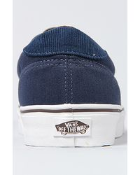 Vans | The Era 59 Sneaker in Brown Dress Blues for Men | Lyst
