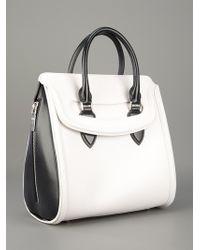 Alexander McQueen | White Tote Bag | Lyst