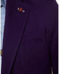 G-Star RAW Blue Blazer for men