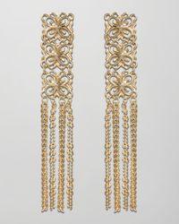Kendra Scott | Metallic Mila Fringe Earrings  | Lyst