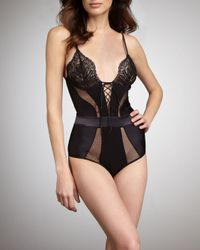 La Perla - Black Belle Bodysuit - Lyst