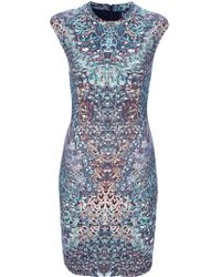 McQ Alexander McQueen | Multicolor Digitally Printed Dress | Lyst