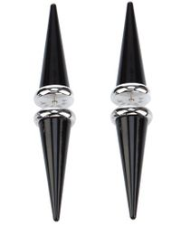 Ambush | Black Spike Earring | Lyst