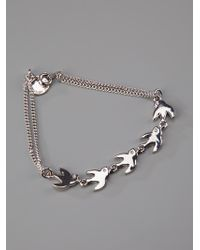 Marc By Marc Jacobs - Metallic Bird Bracelet - Lyst