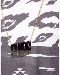 ASOS - Metallic Asos Swag Necklace for Men - Lyst