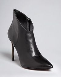 Enzo Angiolini | Brown Pointed Toe Dress Booties Imbra High Heel | Lyst