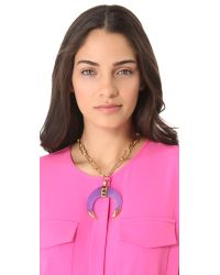 Kelly Wearstler - Purple Moon Statement Necklace - Lyst