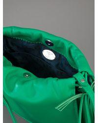 Loewe | Green Tassel Clutch Bag | Lyst