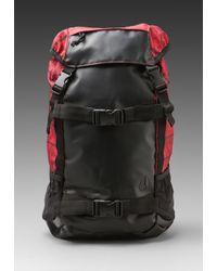 Nixon | Black Landlock Backpack | Lyst