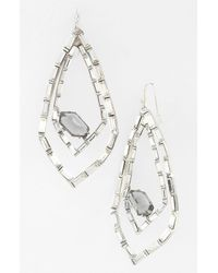 Alexis Bittar | Metallic Miss Havisham Bel Air Teardrop Earrings | Lyst
