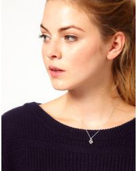 Dogeared | Metallic Make A Wish Smile Necklace | Lyst