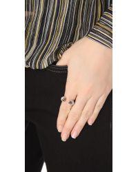 Vita Fede - Metallic Titan Crystal Ring - Lyst