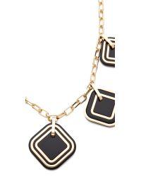 Tory Burch - Metallic Mccoy High Necklace - Lyst