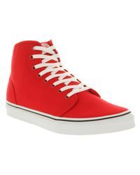 Vans - 106 Hi Red True White for Men - Lyst