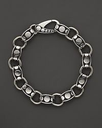 John Hardy | Metallic Mens Dot Silver Link Bracelet for Men | Lyst