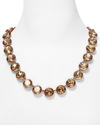 Juicy Couture - Metallic Glam Rocks Multi Gemstone Necklace   - Lyst