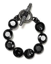 Juicy Couture - Black Glam Rocks Multi Gemstone Pavé Toggle Bracelet - Lyst