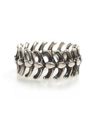 Shaun Leane | Metallic Serpent Spine Ring Silver for Men | Lyst