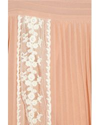Alice By Temperley | Pink Esmeralda Georgette Tunic Dress | Lyst